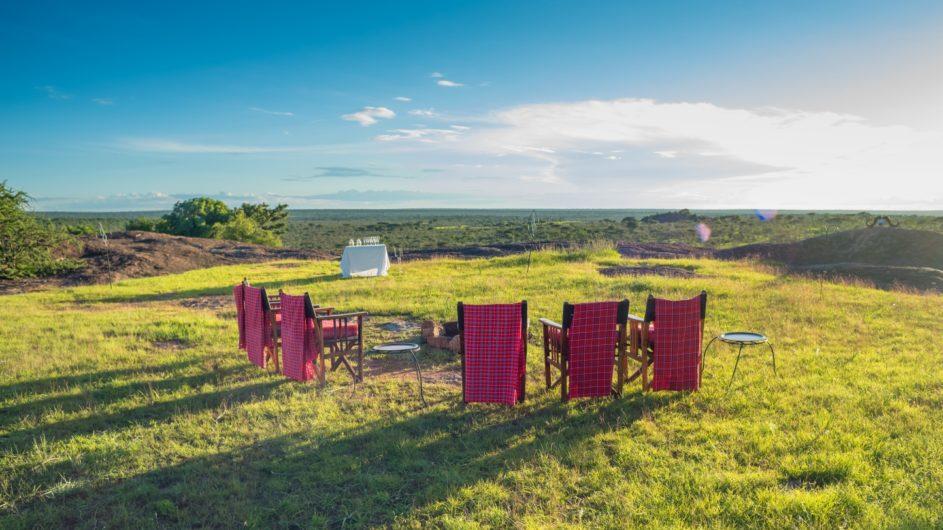 Tanzania Sanctuary Serengeti Migration Camp Aussicht