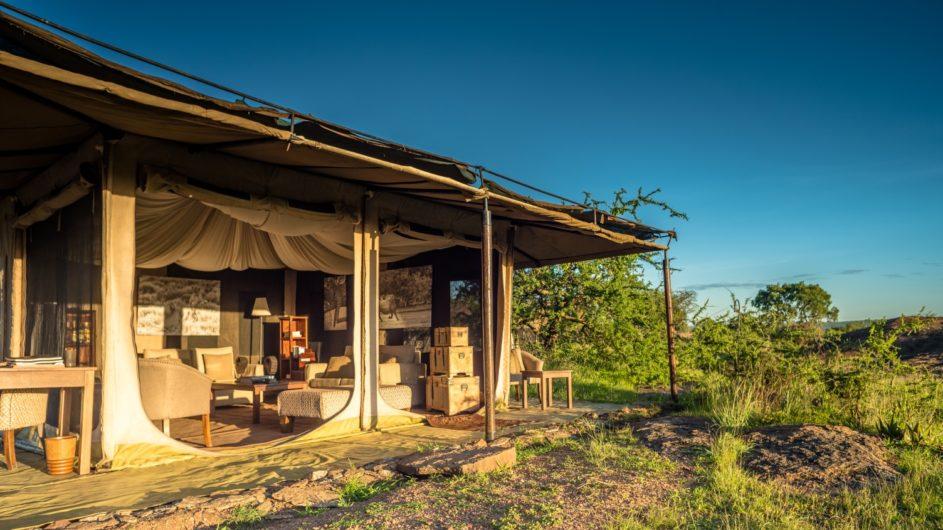 Tanzania Sanctuary Serengeti Migration Camp Loungezelt