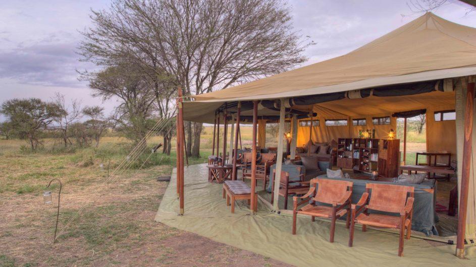 Tanzania Serengeti Asilia Olakira Camp Lounge