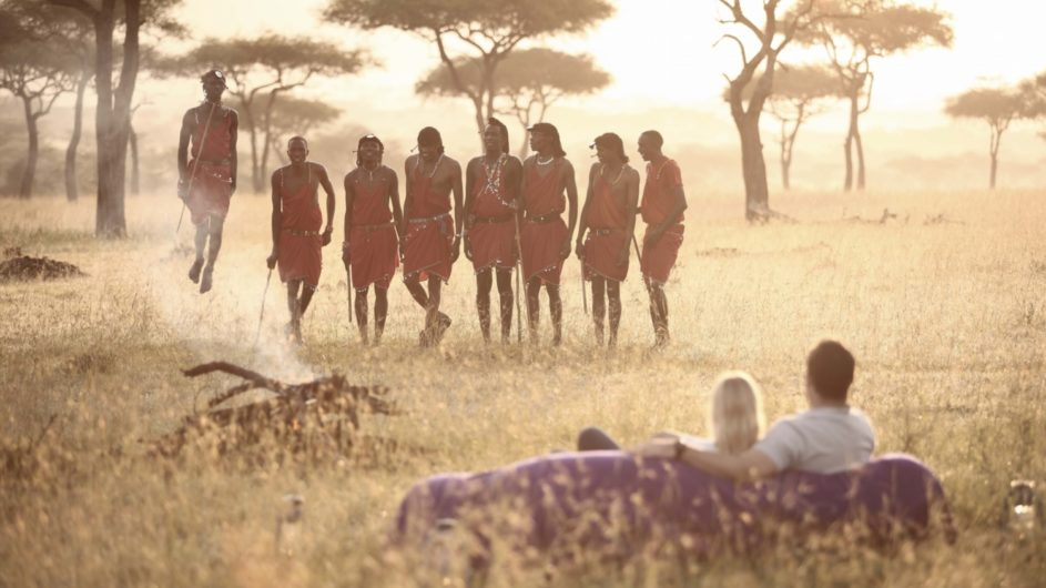 Tanzania Serengeti andBeyond Kleins Camp Ausflug Masai