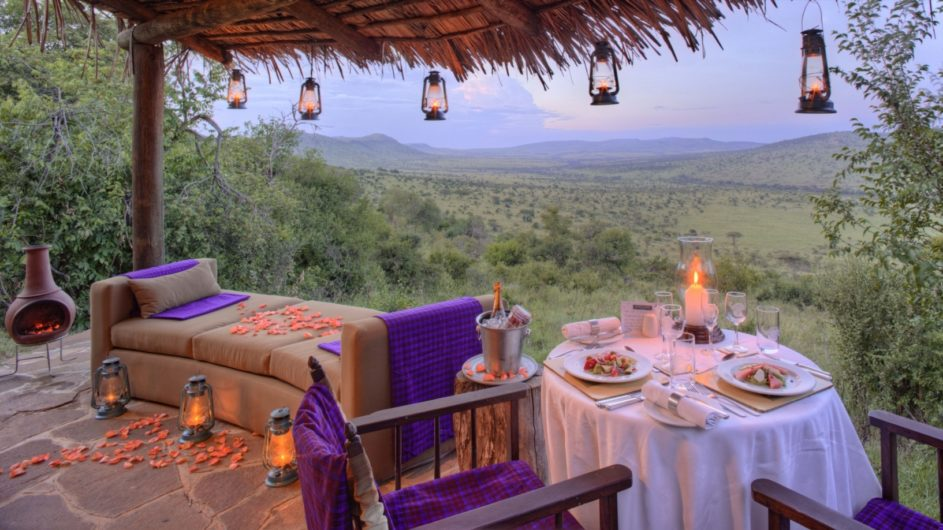 Tanzania Serengeti andBeyond Kleins Camp privates Dinner