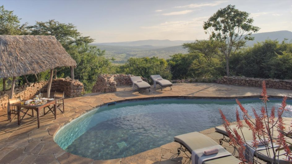 Tanzania Serengeti andBeyond Kleins Camp Pool