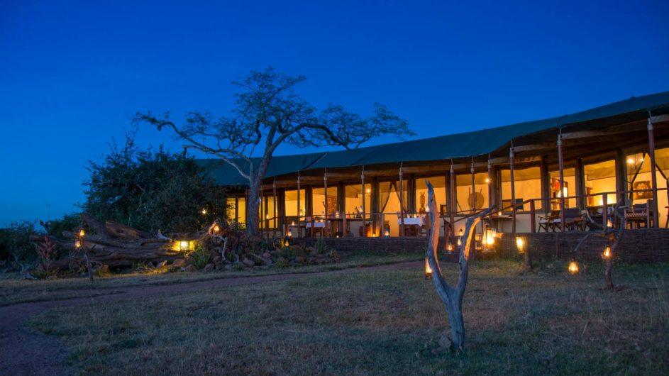Tanzania Serengeti Sanctuary Kusini Camp Ansicht Haupthaus