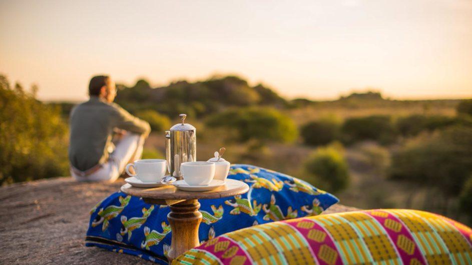 Tanzania Serengeti Sanctuary Kusini Kaffeepause
