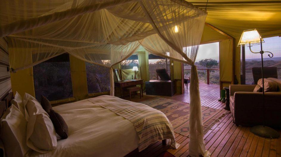 Tanzania Serengeti Sanctuary Kusini Zelt innen