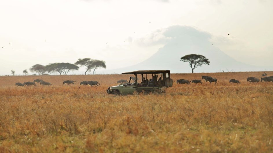 Tanzania Tarangire Nationalpark Sailia Olivers Camp Pirschfahrt