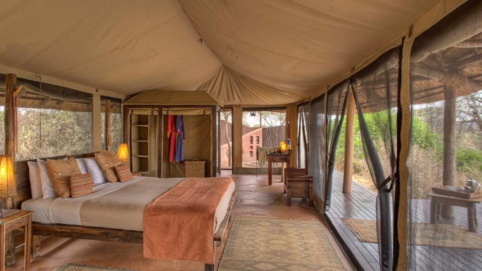 Tanzania Tarangire Nationalpark Sailia Olivers Camp Zimmer
