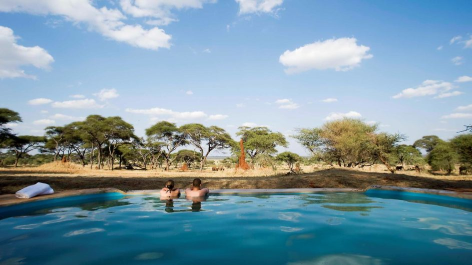 Tanzania Tarangire Nationalpark Sanctuary Swala Camp Pool