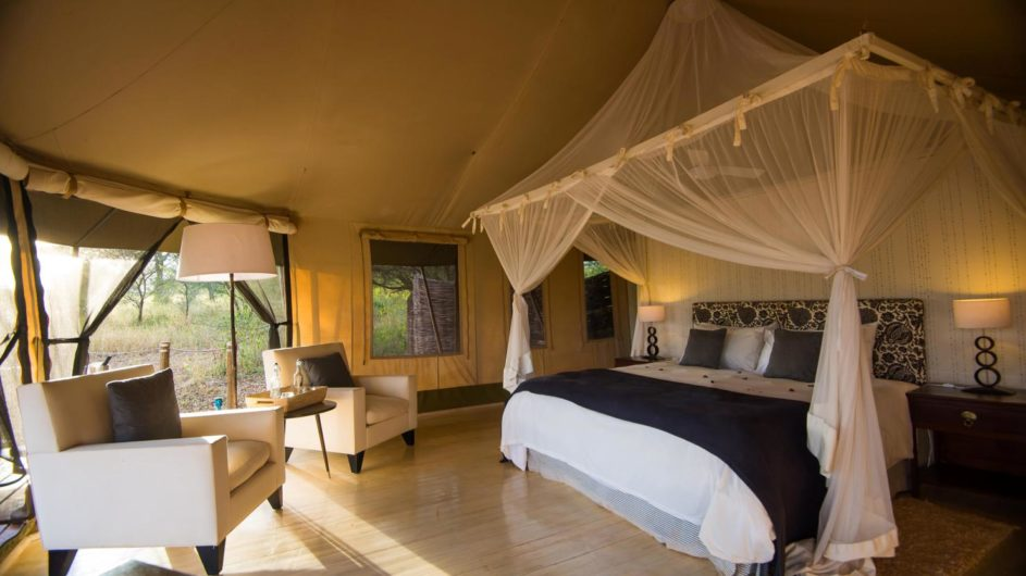 Tanzania Tarangire Nationalpark Sanctuary Swala Camp Zimmer