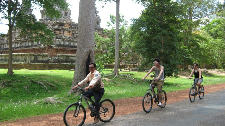 Kambodscha EXO Travel Ankor Tempel Fahrradtour