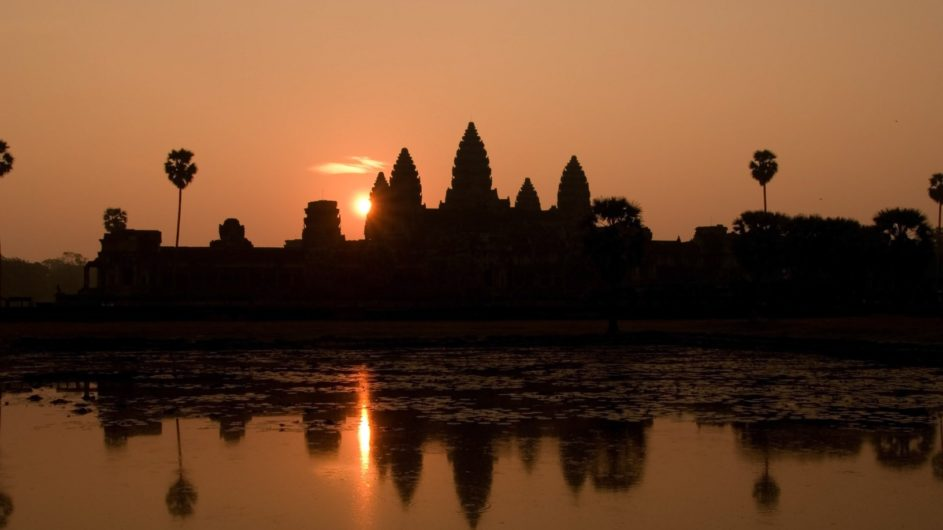 Kambodscha EXO Travel Ankor Tempel Sonnenaufgang