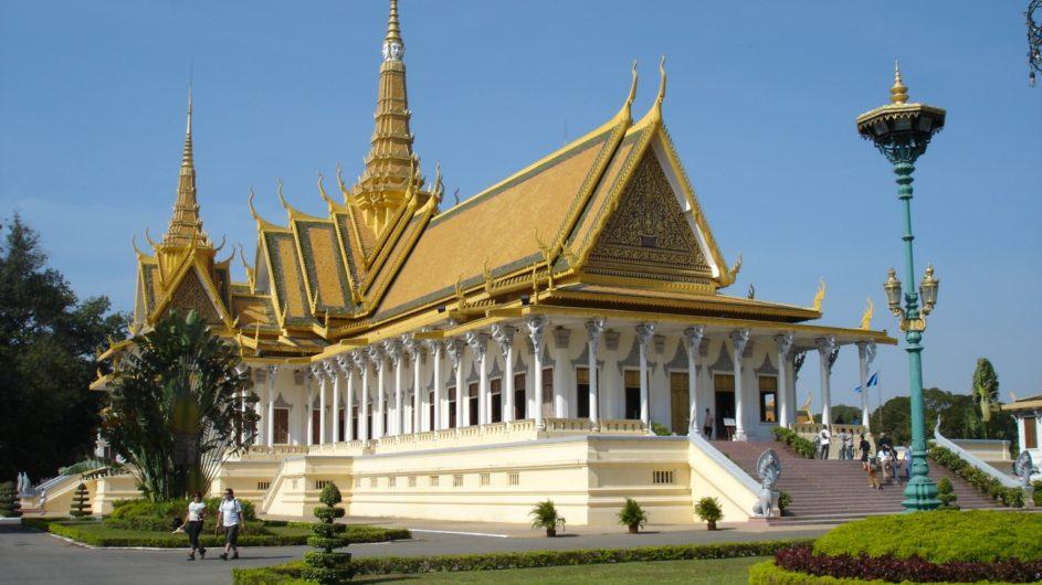 Kambodscha EXO Travel Phom Penh Königspalast