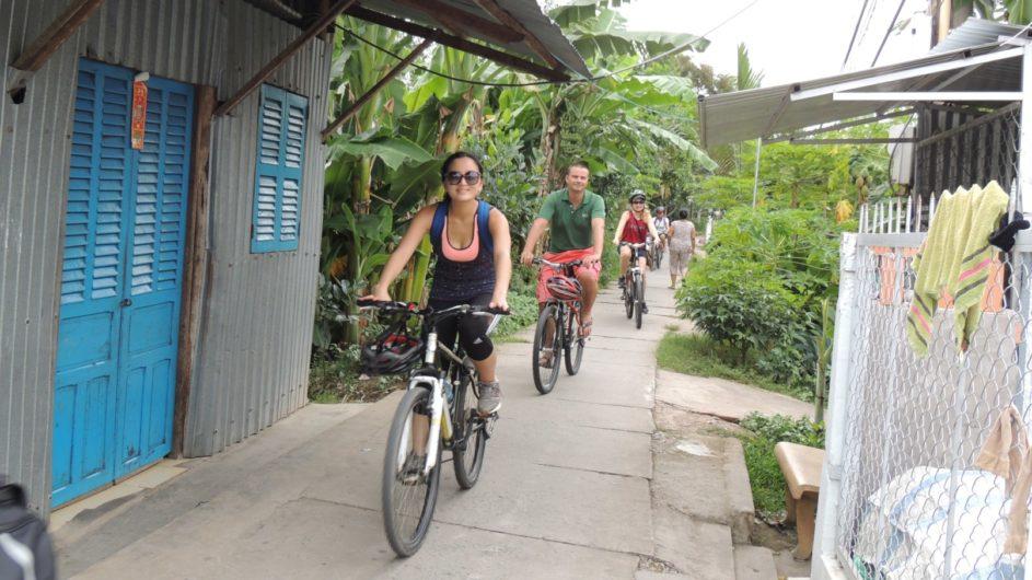Vietnam EXO Travel Fahrradtour durch Dörfer