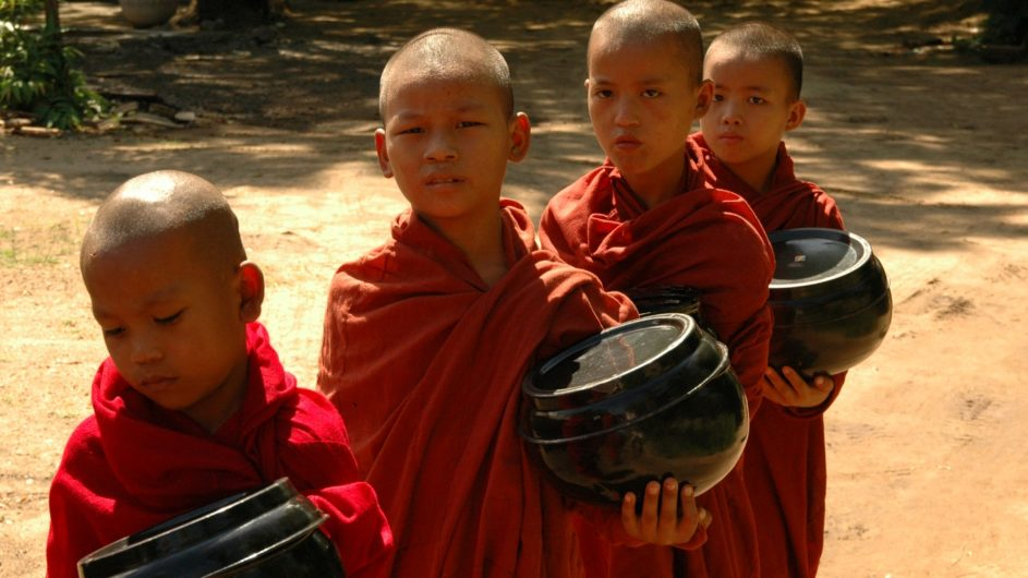 Myanmar EXO Travel Mönchs Novizen