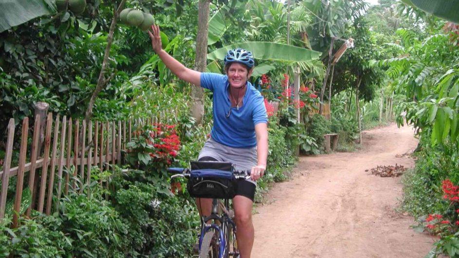 Vietnam EXO Travel Fahrradfahren am Mekong