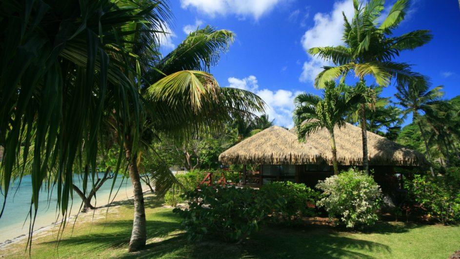 Französisch Polynesien Huahine Royal Huahine Hotel Strand Bungalow