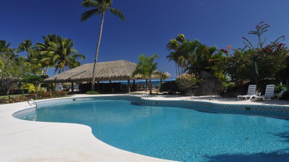 Französisch Polynesien Huahine Royal Huahine Hotel Pool