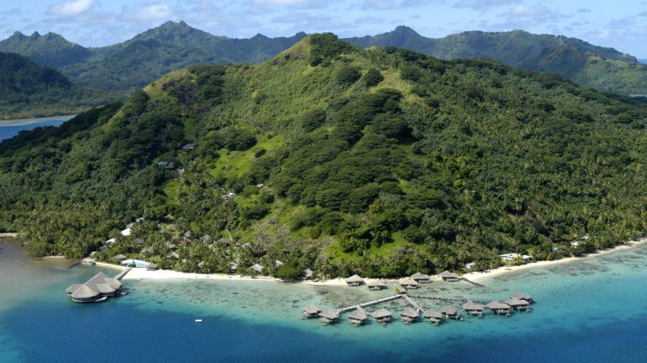 Französisch Polynesien Huahine Royal Huahine Hotel Resort Ansicht