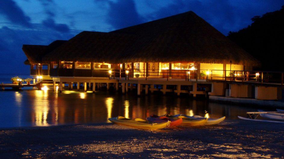 Französisch Polynesien Huahine Royal Huahine Hotel Restaurant
