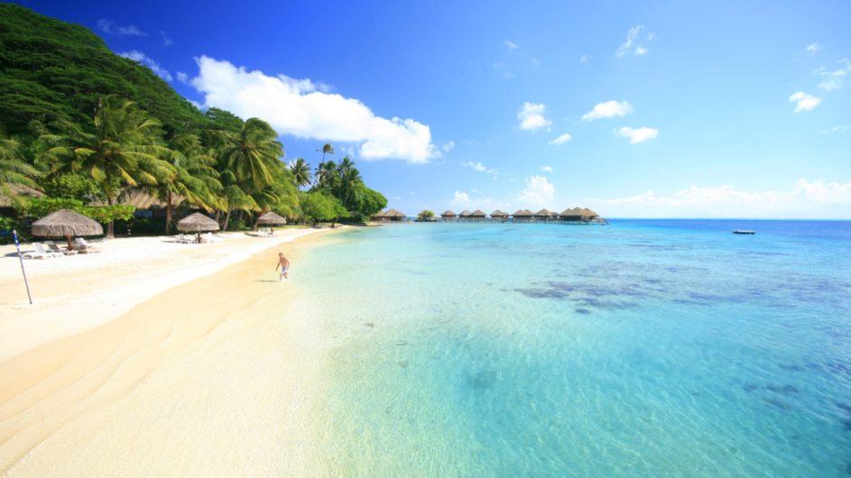 Französisch Polynesien Huahine Royal Huahine Hotel Strand