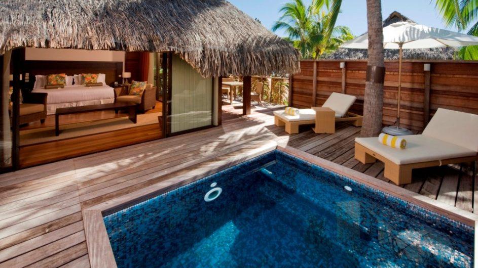 Französisch Polynesien Hilton Moorea Lagoon Resort Garden Pool Suite