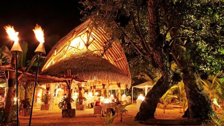Französisch Polynesien Moorea Sofitel Ia Ora Beach Resort K Beach Restraurant