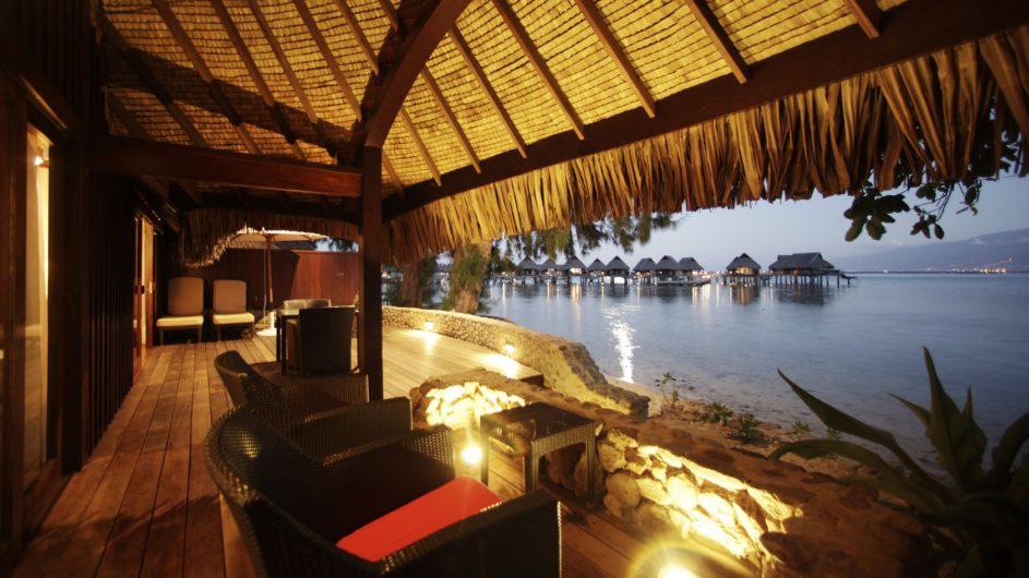 Französisch Polynesien Moorea Sofitel Ia Ora Beach Resort 2 Schlafzimmer Villa Terrasse