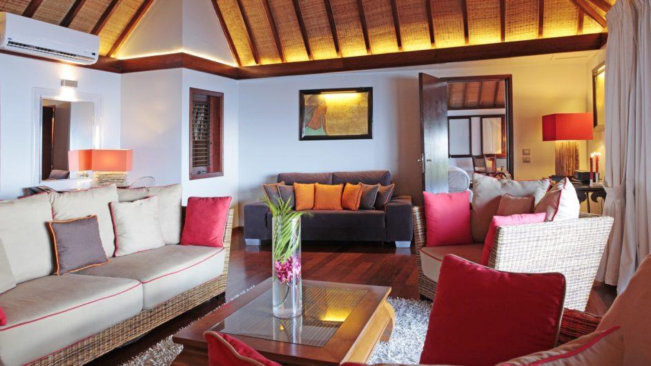 Französisch Polynesien Moorea Sofitel Ia Ora Beach Resort 2 Schlafzimmer Villa