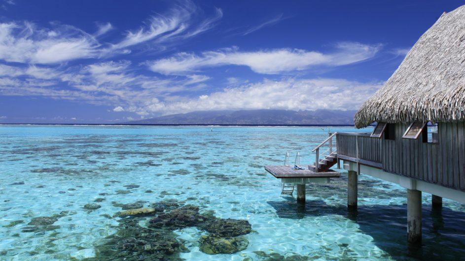 Französisch Polynesien Moorea Sofitel Ia Ora Beach Resort Luxury Overwater Bungalow