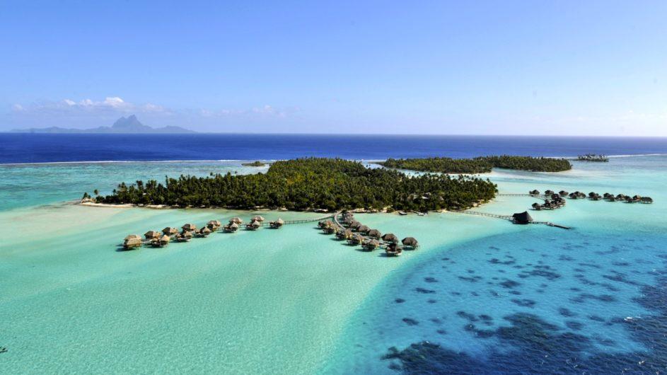 Französisch Polynesien Tahai Island Resort Ansicht