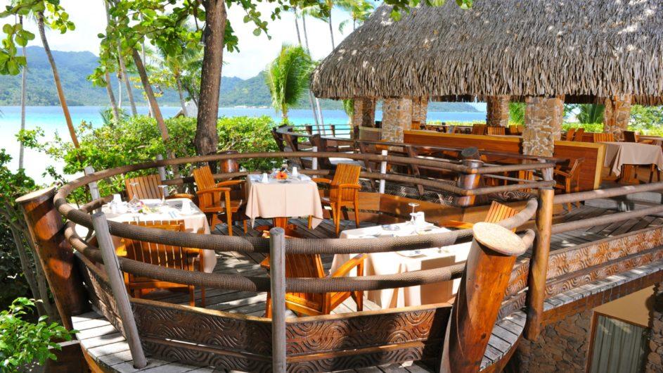 Französisch Polynesien Tahai Island Resort Restaurant