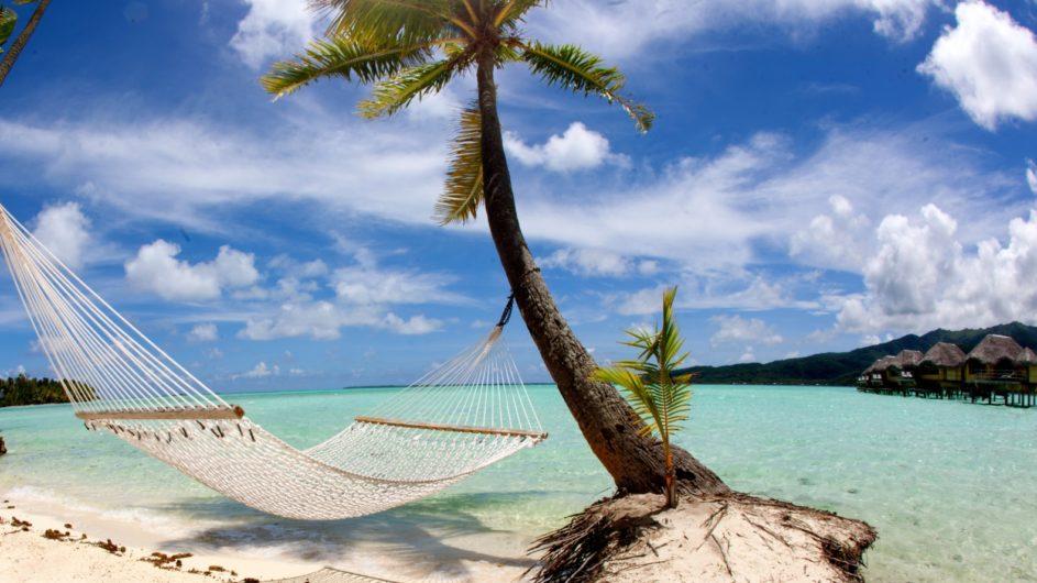 Französisch Polynesien Tahai Island Resort Strand