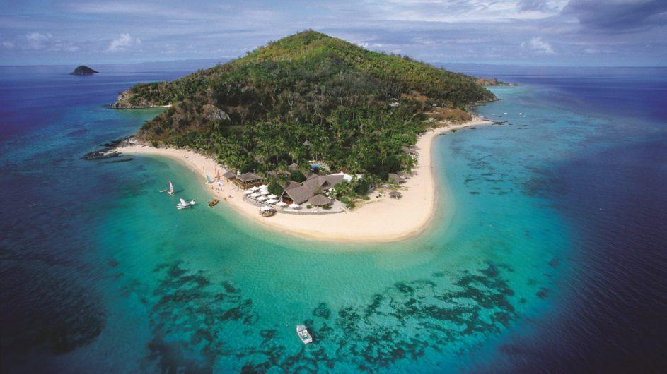 Fiji Mamanuca Inseln Castaway Island Resort Inselansicht