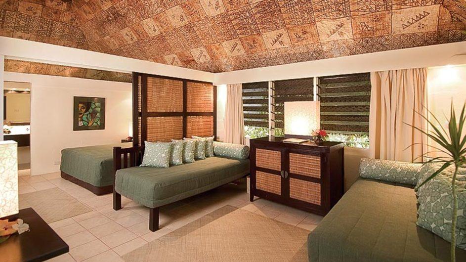 Fiji Mamanuca Inseln Castaway Island Resort Inselbure innen