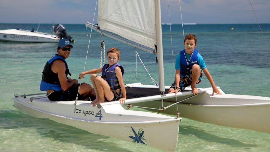 Fiji Mamanuca Inseln Castaway Island Resort Segelausflug mit Kindern