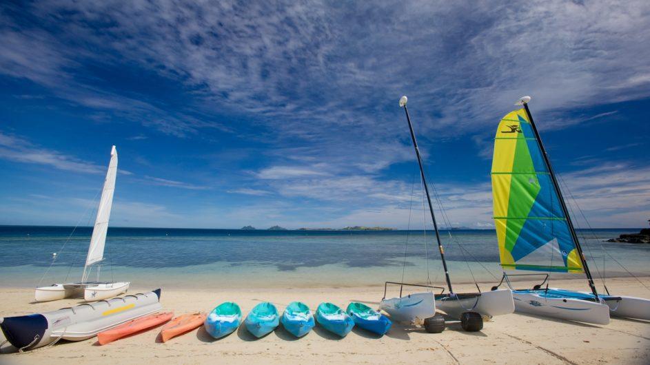 Fiji Mamanuca Inseln Castaway Island Resort Strand Aktivitäen
