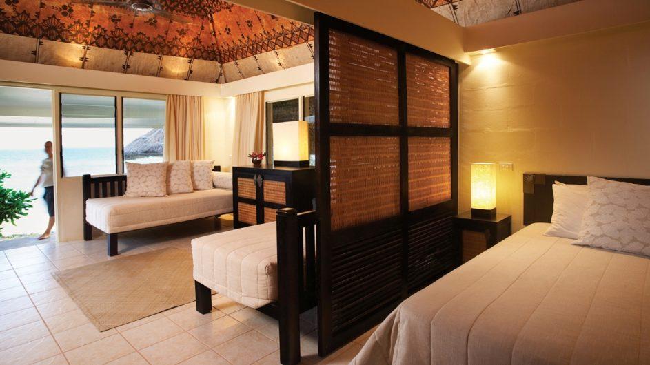 Fiji Mamanuca Inseln Castaway Island Resort Strandbure innen