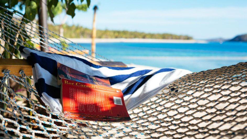 Fiji Yasawa Inseln Nanuya Island Resort Hängematte
