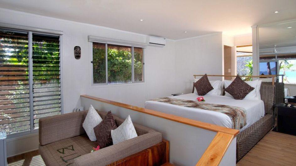 Fiji Yasawa Inseln Nanuya Island Resort Superior Villa Schlafzimmer