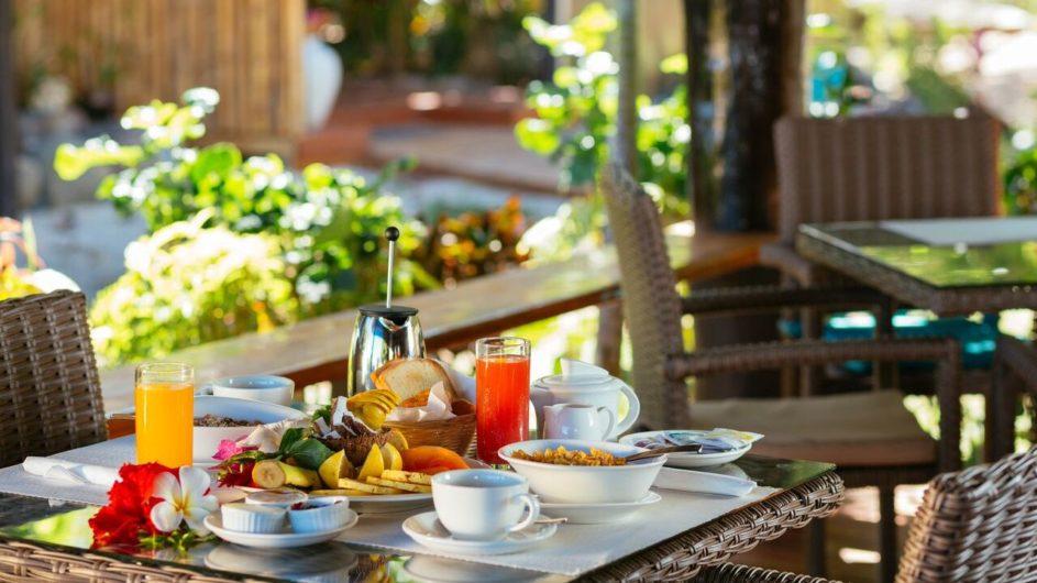 Fiji Yasawa Inseln Nanuya Island Resort Frühstück