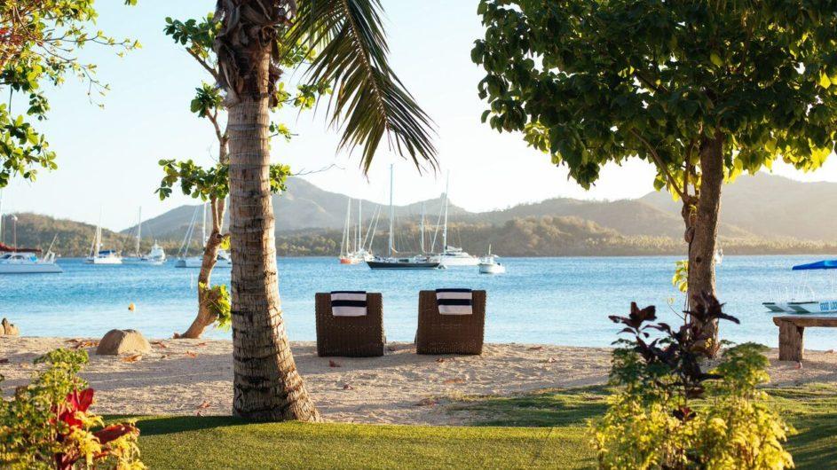 Fiji Yasawa Inseln Nanuya Island Resort am Strand