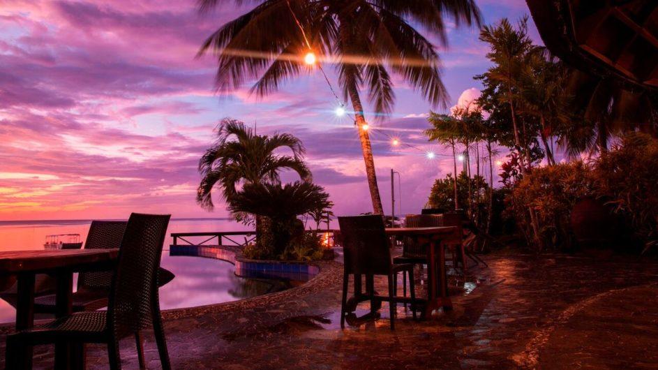 Samoa Savai Le Lagoto Beach Resort Hans Bar