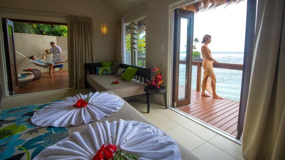 Samoa Upolu Seabreeze Resort Beachfront Villa