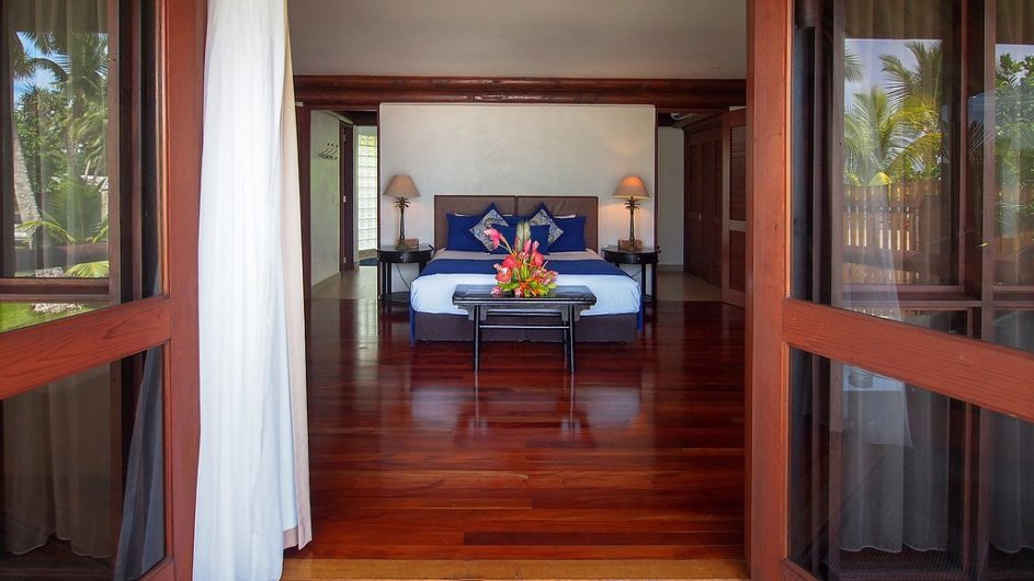 Samoa Upolu Sinalei Reef Resort 1 Schlafzimmer Strandvilla Schlafzimmer
