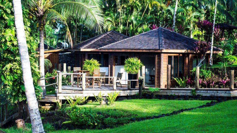 Samoa Upolu Sinalei Reef Reef Resort Villa Außenansicht