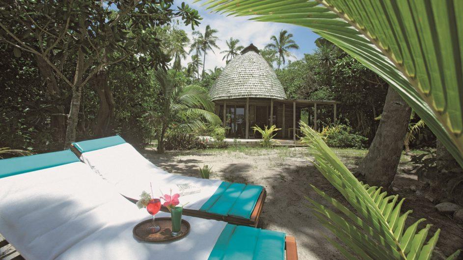 Tonga Tongatapu Fafa Island Resort Fale Außenansicht