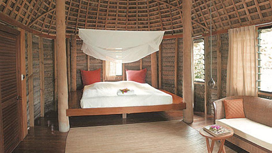 Tonga Tongatapu Fafa Island Resort Schlafzimmer
