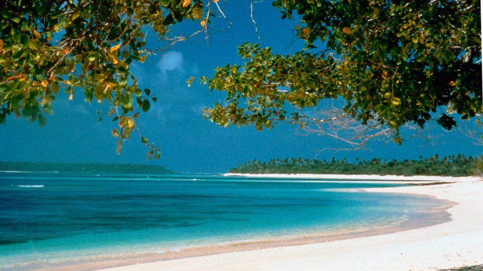 Tonga Haapai Sandy Beach Resort strand