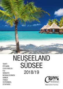 Katalog Neuseeland Südsee Individualreisen 2017 / 18