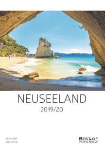 Katalog Neuseeland Individualreisen 2019 / 20